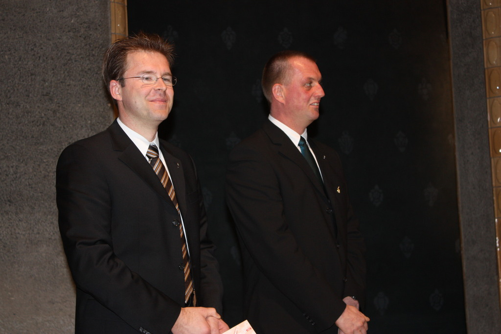 von links nach rechts: Thomas Bär, Thomas Colditz