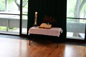 Der Altar in Böfingen